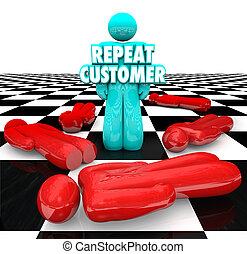 Repeat Customer Loyal Satisfied Faithful Client Return Business