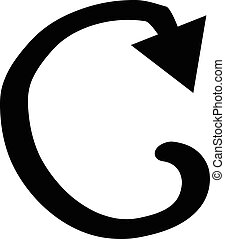 Repeat sign icon.
