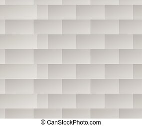 Repeatable black and white pattern with rectangle shapes. Lamella, facets repeatable background