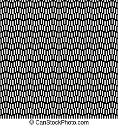 Repeatable geometric grid texture. Vector seamless mesh pattern. Monochrome zigzag lines abstract background
