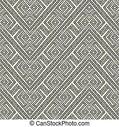 Repeating geometric tiles - Vector seamless pattern. Modern...