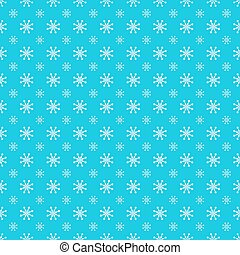 Repeating Snowflake Pattern