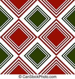 Repeating tartan pattern