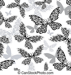 Repeating white-black pattern
