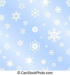 repetindo, backgrou, vetorial, snowflake