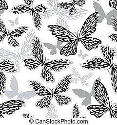 repetindo, white-black, padrão