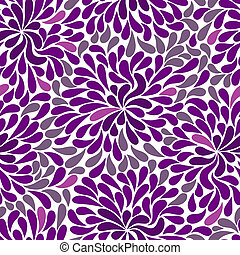 Repetitive violet and white and pink pattern (vector)