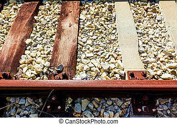 Replaced railroad sleepers