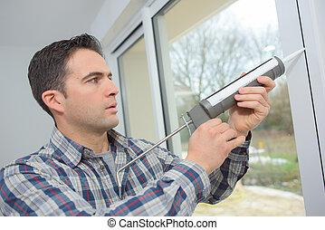 replacing the windows