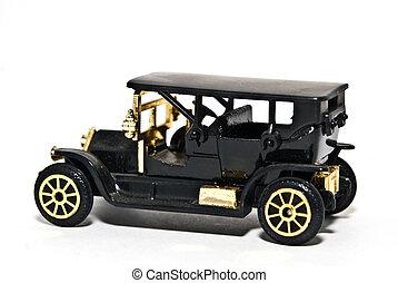 Replica of an Antique 4 Door Car