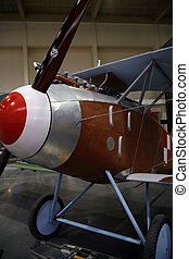 replica of old WW1 plane
