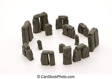 Replica of Stone Hedge