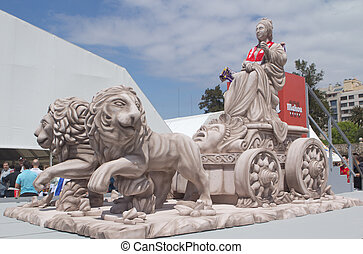 Replica of the Cibeles Statue