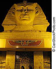 Replica of the Sphinx in Egypt