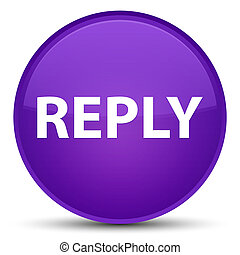 Reply special purple round button