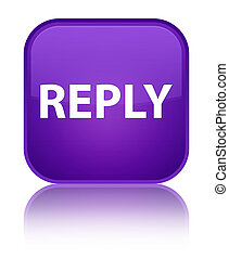Reply special purple square button