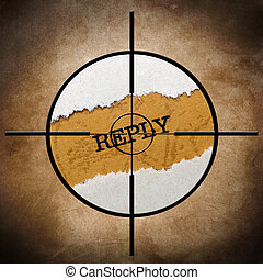 Reply target