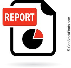 Report document icon