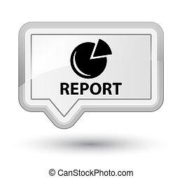 Report (graph icon) prime white banner button