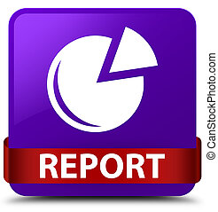 Report (graph icon) purple square button red ribbon in middle