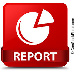 Report (graph icon) red square button red ribbon in middle