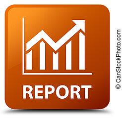 Report (statistics icon) brown square button