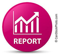 Report (statistics icon) pink round button