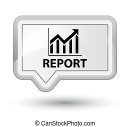 Report (statistics icon) prime white banner button