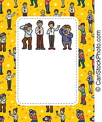 reporter people card