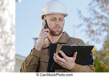 reporting the surveyor's information