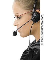représentant, service clientèle