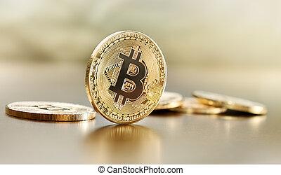 représentation, physique, bitcoin