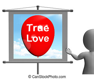 representa, amantes, amor, sinal, pares, verdadeiro