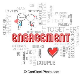 representa, amor, par, obrigação, achar, afeto