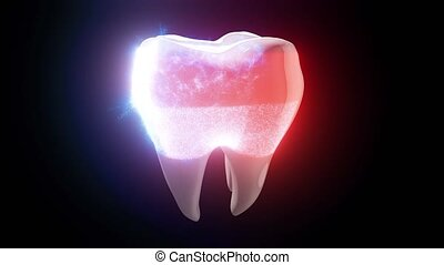 Representation of healthy tooth