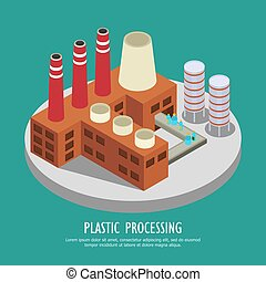 reprocessing, プラスチック, 構成, 背景