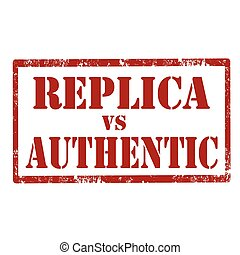 reproduktion, authentisch, vs