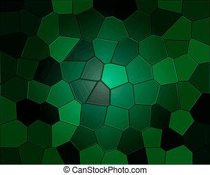reptil, plano de fondo, verde
