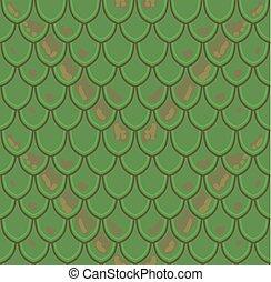 Reptile Skin Seamless Pattern Snake Background