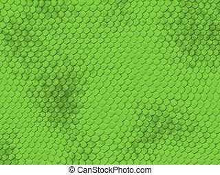 Reptile texture series - green snake