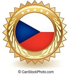 repubblica ceca, distintivo