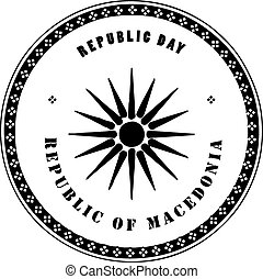Republic day Macedonia
