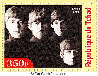 REPUBLIC GUINEA ECATORIAL ? CIRCA 2003 : The Beatles - 1980s...