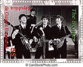 REPUBLIC GUINEA ECUTORIAL ? CIRCA 2003 : The Beatles - 1980s...