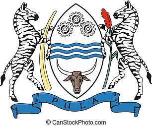 Republic of Botswana coat of arms