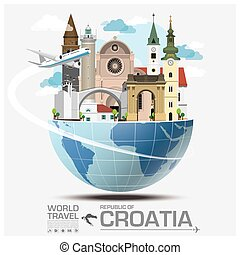 Republic Of Croatia Landmark Global Travel And Journey...