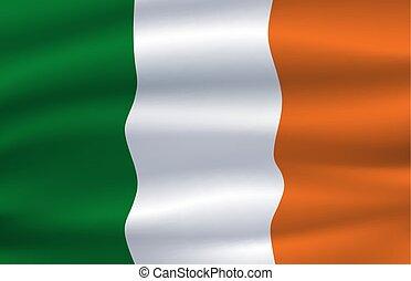 Republic of Ireland national flag, Irish tricolor