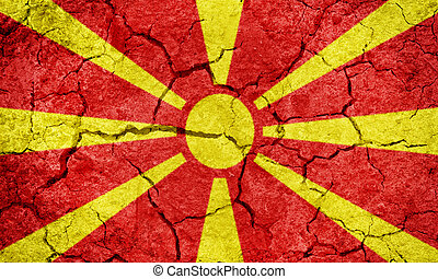 Republic of Macedonia flag