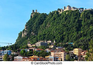 Republic of San Marino view