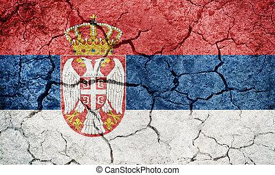 Republic of Serbia flag